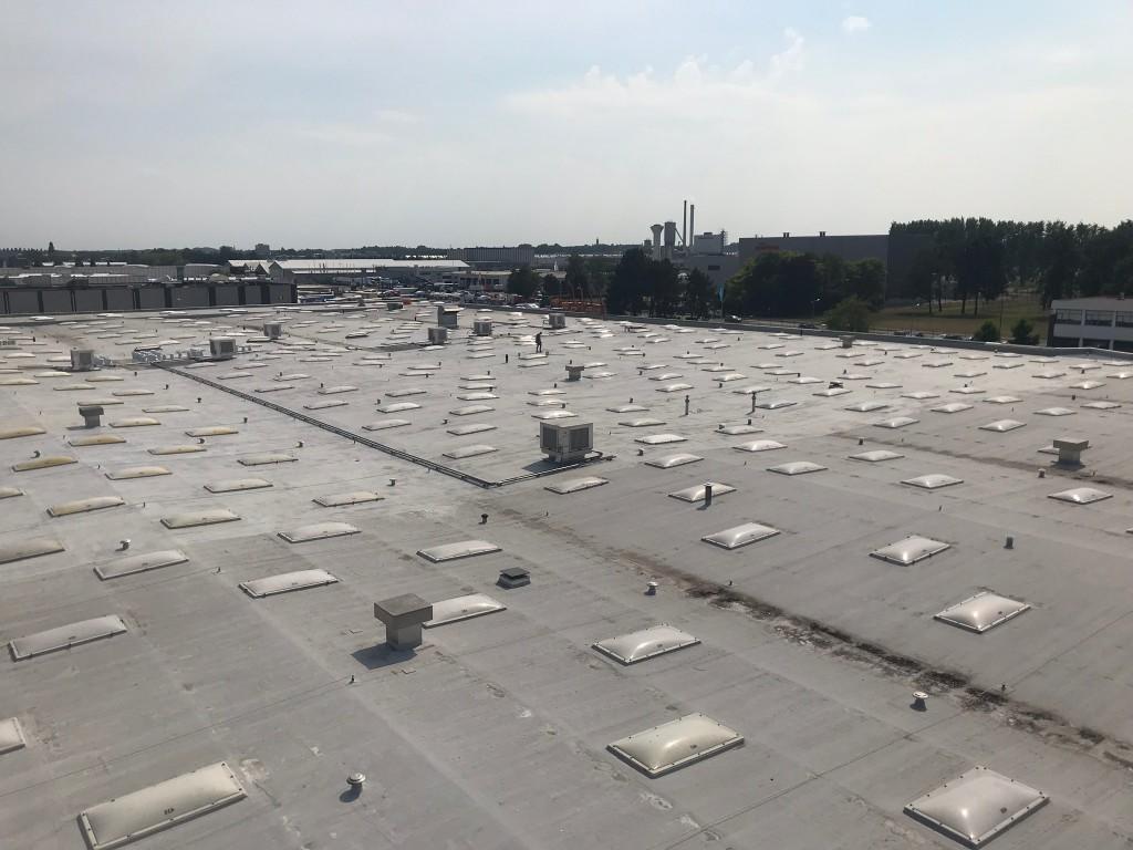 Dakrenovatie fase 7, 8 en 9 fabriek Smurfit Etten-Leur