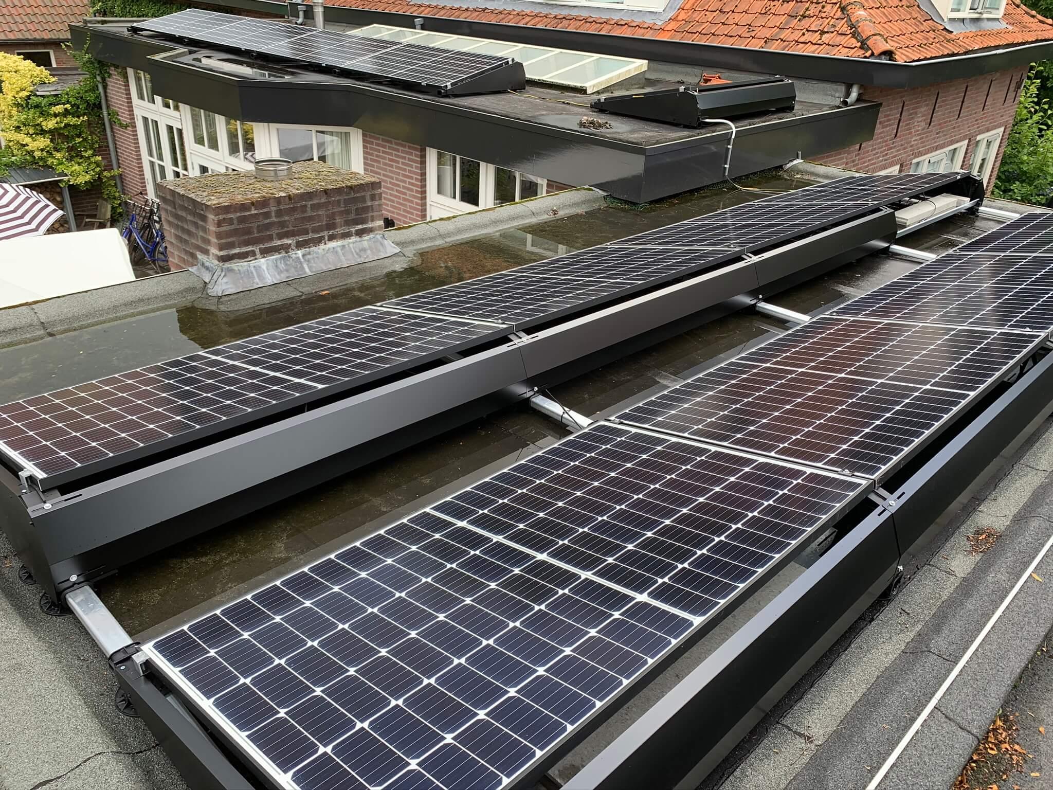 Installatie zonnepanelen woning Mastbos Breda